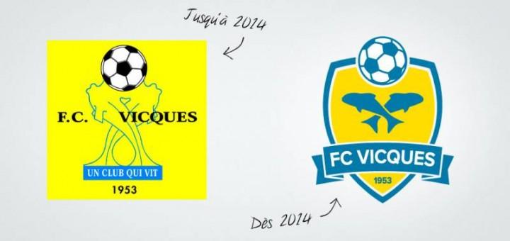 Nouveau logo FC VIcques