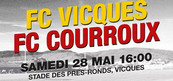 FC Vicques - FC Courroux